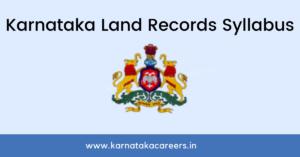Karnataka land records